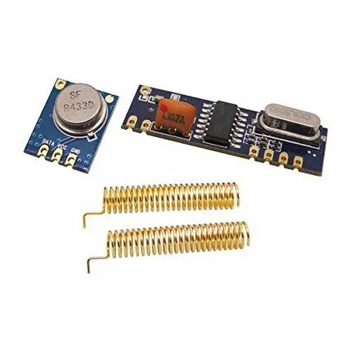 Centiot 315mhz/433mhz Wireless Module Kit Rf Transmitter Stx882 ,receiver  Srx882 ,cu Spring Antenna