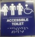 Braille Sign Plates