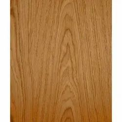 Light Brown 9 Mm Teak Veneer Plywood Sheets, Matte