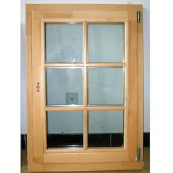 Oak Wood Window