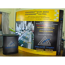 Convex Pop Up Display System