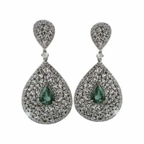 Las Imitation Diamond Earrings
