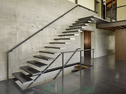 Steel Staircase and Handrailing Services - Silicon Info