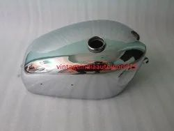 New Velocette Venom Chrome Plated Petrol Tank (With Side Badges Mount)