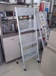 Stainless Steel Magazine Display Stand