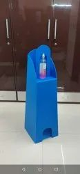 Plastic Foldable Foot Operated Sanitizer Dispenser