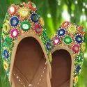 Designer Multi Color Jutti