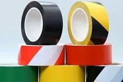 Yellow/Black, Red, Blue Floor Marking Tape