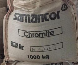 Black Chromite Sand, Grade: Cr2O3 46% Minimum, Packaging Size: 1MT / 50Kgs