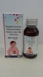 Phenylephrien Hydrocloride & Chlorpheniramine Mele Suspensionate Syrup