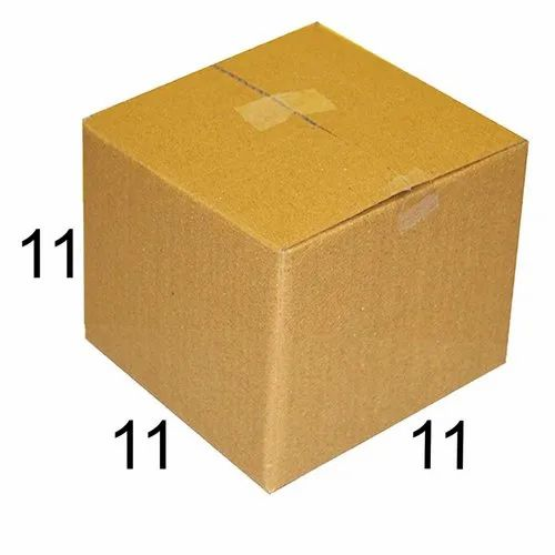 Square 11 x 11 x 11 inch Packaging Corrugated Box