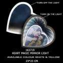 Steel White Gift Potli Personalized Magic Mirror Photo Gift