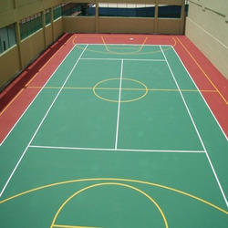 4.5mm Thick Pvc Flooring Sports Flooring