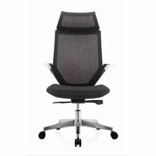 Cube Black VELLAR HB Revolving Executive Chair, Warranty: 1 Year