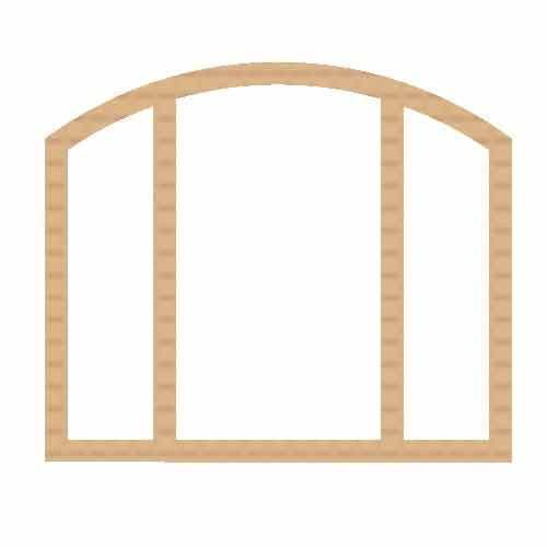 Double Sided Gate Arch Window Frame at Rs 5000 /piece | Window ...