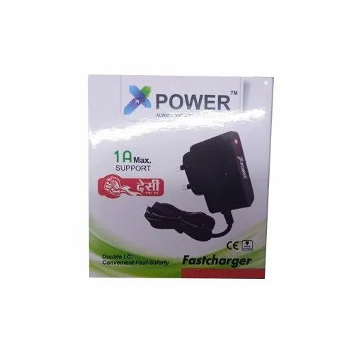 1m Black XPower Fast Mobile Charger