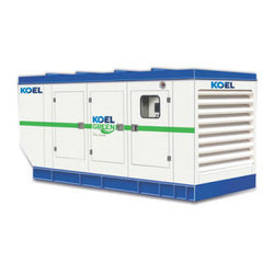 KOEL GREEN 125 KVA Silent Diesel Generator, For Industrial, 415 V