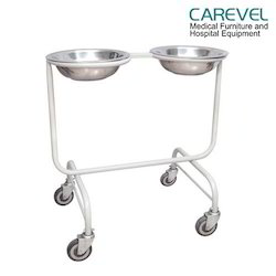 Carevel Double Wash Basin Stand
