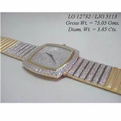 Custom Diamond Watch