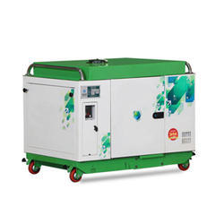 Silent or Soundproof Greaves Power 5 kVA Silent Generator Set for Residence