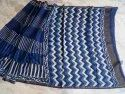 Party Wear Printed Designer Maheshwari Silk Saree, 6 M (with Blouse Piece)