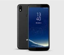 Black Micromax Canvas 2 Plus Smart Phone