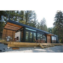 Steel,Glass Prefabricated Cottage Container