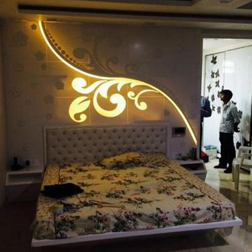 Bedroom Back Wall Panel At Rs 1000 Square Feet Sector