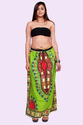 Cotton Printed Dashiki Skirt