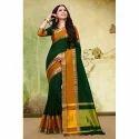 Ladies Festive Wear Half Silk Saree, 6.3 M (with Blouse Piece)