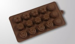 Brown Silicon Chocolate Mould