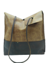 Single Handle Leather Tote Bag