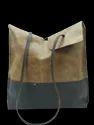 Single Handle Leather Tote Bag