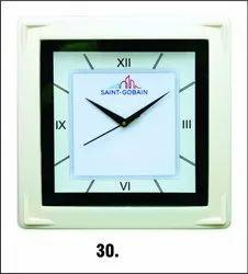 Plastic Promotional Wall Clock, Size: 285x285 mm