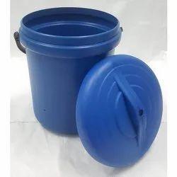 Blue Plastic Dust Bin