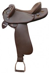 Half Breed Horse Leather Saddle