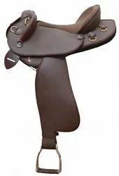Half Breed Horse Leather Saddle