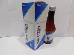 Calcium Carbonate Eq.to Elemental Calcium Vit. Syrup