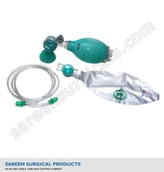 Resuscitator Bag Silicone Child