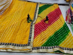 Bandhani Saree Georgette