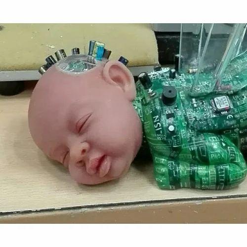 sculpture en silicone