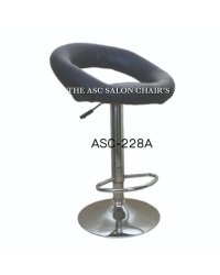Asc Black Fancy Hair Cutting Stool For Professional