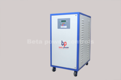 Three Phase Blue Digital Servo Stabilizer, 18kva