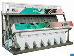 7 Chute Tri Chromatic Color Sorter