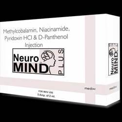 Neuromind plus Methyl 1000 Pyridoxin 10 Niacinamid 100