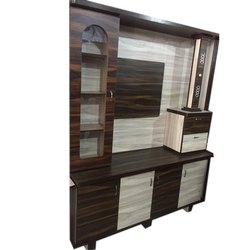 Wood Designer Wooden Showcase, for Home, Hotel