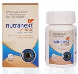 Nutranext Opticare Nutritional Support To Maintain Healthy Eye And Good Vision Dietary Supplement