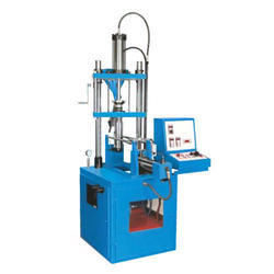 Vertical Plunger Semi Automatic Moulding Machine