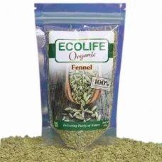Ecolife Organic Fennel 100gm