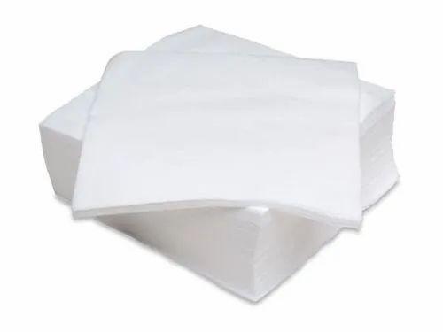 White Lint Free Cloth, Size: 1x1 Feet, 100